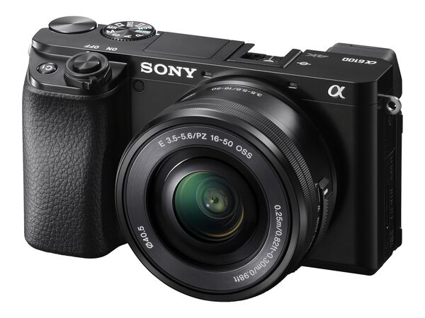 Sony α6100 ILCE-6100Y - digital camera 16-50mm and 55-210mm lensesSony α6100 ILCE-6100Y - digital camera 16-50mm and 55-210mm lenses, , hi-res