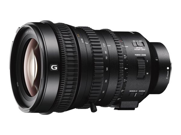 Sony SELP18110G - zoom lens - 18 mm - 110 mmSony SELP18110G - zoom lens - 18 mm - 110 mm, , hi-res