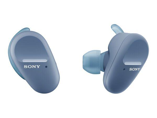 Sony WF-SP800N - true wireless earphones with micSony WF-SP800N - true wireless earphones with mic, Blue, hi-res