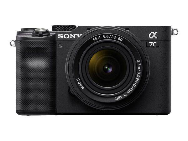 Sony α7C ILCE-7CL - digital camera 28-60mm lensSony α7C ILCE-7CL - digital camera 28-60mm lens, Black, hi-res