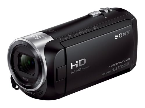 Sony Handycam HDR-CX440 - camcorder - Carl Zeiss - storage: flash card, , hi-res