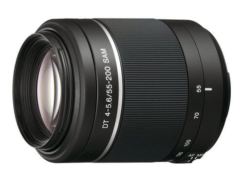 Sony SAL552002 - telephoto zoom lens - 55 mm - 200 mm, , hi-res