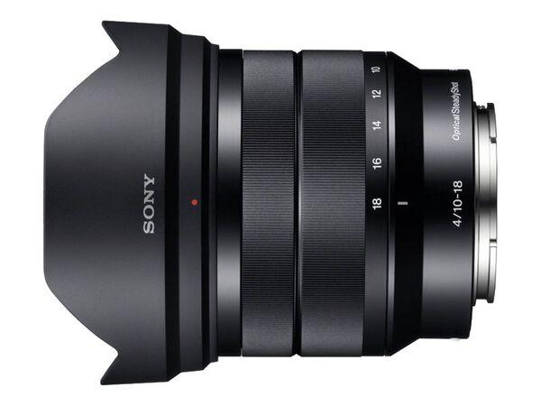 Sony SEL1018 - wide-angle zoom lens - 10 mm - 18 mmSony SEL1018 - wide-angle zoom lens - 10 mm - 18 mm, , hi-res