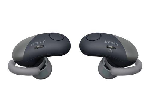Sony WF-SP700N - earphones with mic, Black, hi-res