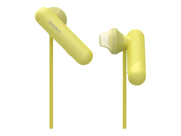 Sony WI-SP500 - earphones with micSony WI-SP500 - earphones with mic, Yellow, hi-res