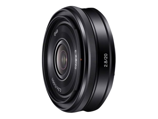 Sony SEL20F28 - wide-angle lens - 20 mmSony SEL20F28 - wide-angle lens - 20 mm, , hi-res