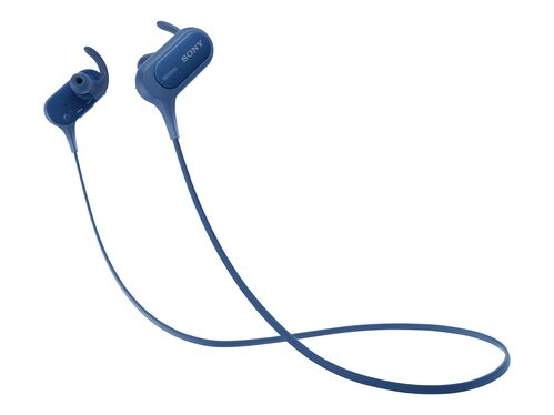 Sony MDR-XB50BS - earphones with mic, Blue, hi-res