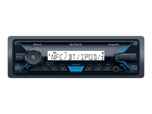 Sony DXS-M5511BT - marine - digital receiver - in-dash unit - Full-DINSony DXS-M5511BT - marine - digital receiver - in-dash unit - Full-DIN, , hi-res
