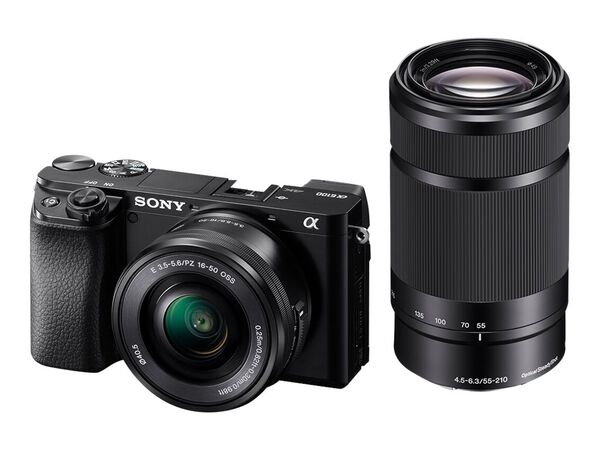 Sony α6100 ILCE-6100L - digital camera 16-50mm lensSony α6100 ILCE-6100L - digital camera 16-50mm lens, , hi-res