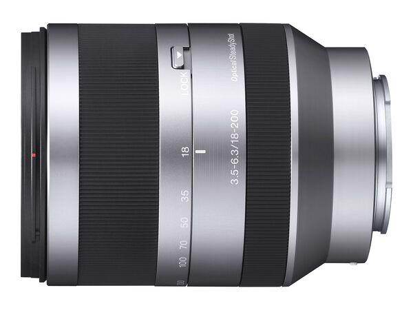 Sony SEL18200 - zoom lens - 18 mm - 200 mmSony SEL18200 - zoom lens - 18 mm - 200 mm, , hi-res