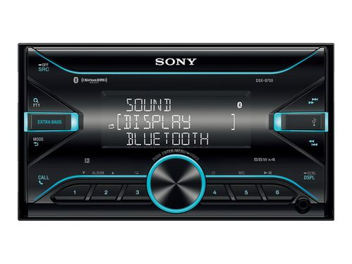 Sony DSX-B700 - car - digital receiver - in-dash unit - Double-DIN, , hi-res