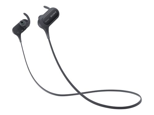 Sony MDR-XB50BS - earphones with mic, Black, hi-res