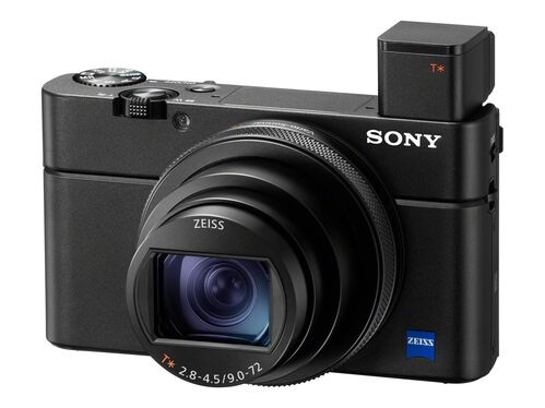 Sony Cyber-shot DSC-RX100 VII - digital camera - ZEISS - with Sony VCT-SGR1, , hi-res