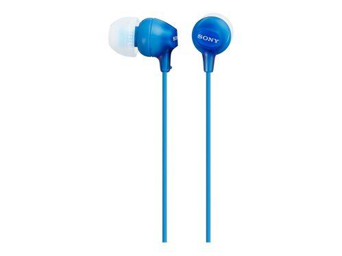 Sony MDR-EX15LP - earphones, Blue, hi-res
