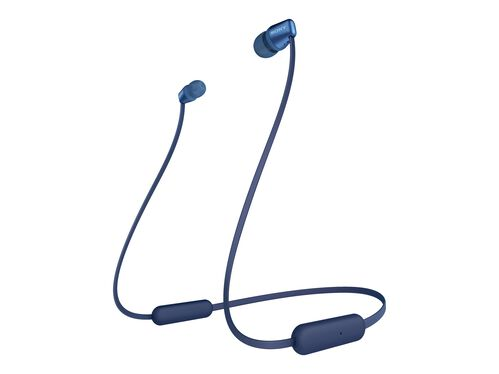 Sony WI-C310 - earphones with mic, Blue, hi-res