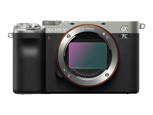 Sony α7C ILCE-7CL - digital camera 28-60mm lens, Silver, hi-res