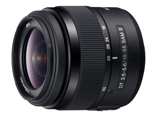 Sony SAL18552 - zoom lens - 18 mm - 55 mm, , hi-res
