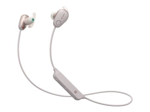 Sony WI-SP600N - earphones with mic, Pink, hi-res