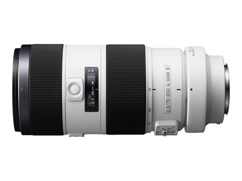Sony SAL70200G2 - telephoto zoom lens - 70 mm - 200 mm, , hi-res