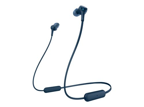 Sony WI-XB400 - earphones with mic, Blue, hi-res