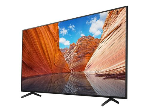 "Sony KD-50X80J BRAVIA X80J Series - 50"" Class (49.5"" viewable) LED-backlit LCD TV - 4K, , hi-res"