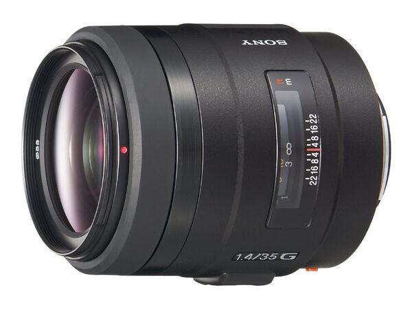 Sony SAL35F14G - wide-angle lens - 35 mmSony SAL35F14G - wide-angle lens - 35 mm, , hi-res