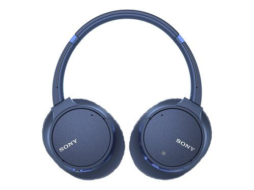 Sony WH-CH700N - headphones with mic, Blue, hi-res