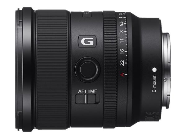 Sony SEL20F18G - wide-angle lens - 20 mmSony SEL20F18G - wide-angle lens - 20 mm, , hi-res