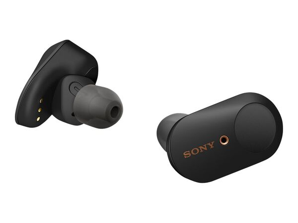 Sony WF-1000XM3 - true wireless earphones with micSony WF-1000XM3 - true wireless earphones with mic, Black, hi-res