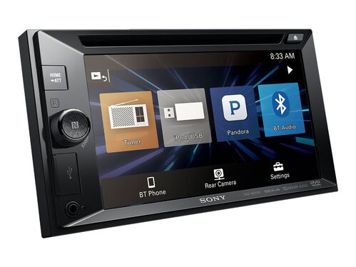 Sony XAV-XAV-W651BT - DVD receiver - display 6.2 in - in-dash unit - Double-DIN, , hi-res