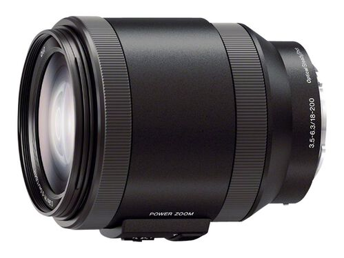 Sony SELP18200 - zoom lens - 18 mm - 200 mm, , hi-res