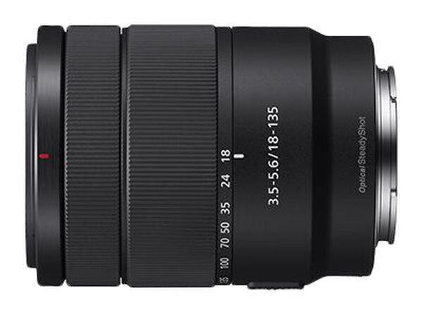 Sony SEL18135 - zoom lens - 18 mm - 135 mmSony SEL18135 - zoom lens - 18 mm - 135 mm, , hi-res