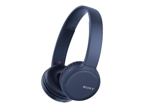 Sony WH-CH510 - headphones with mic, Blue, hi-res