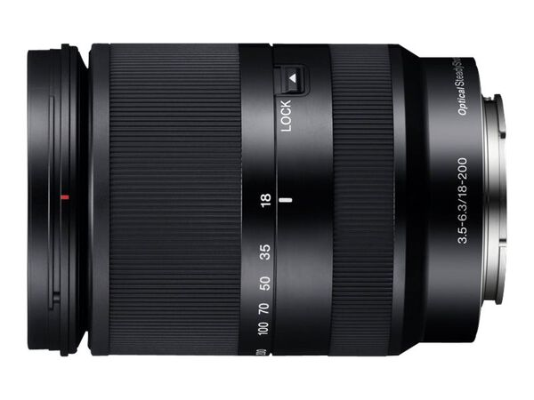 Sony SEL18200LE - zoom lens - 18 mm - 200 mmSony SEL18200LE - zoom lens - 18 mm - 200 mm, , hi-res
