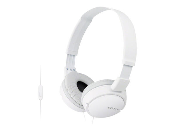 Sony MDR-ZX110AP - headphones with micSony MDR-ZX110AP - headphones with mic, White, hi-res