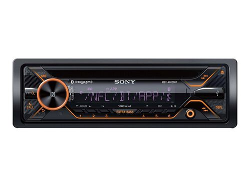 Sony MEX-XB120BT - car - CD receiver - in-dash unit - Full-DIN, , hi-res