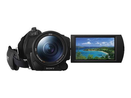 Sony Handycam FDR-AX700 - camcorder - Carl Zeiss - storage: flash card, , hi-res