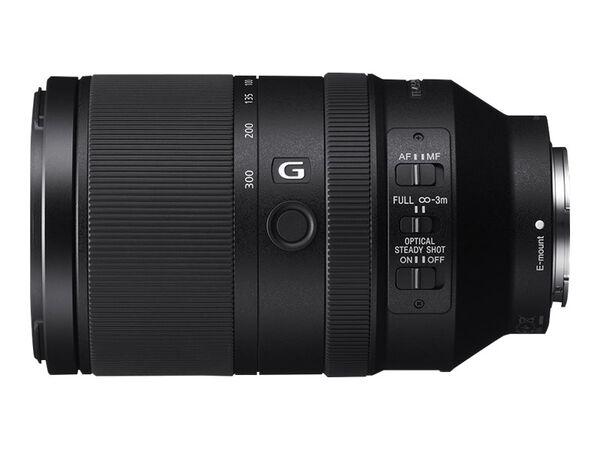 Sony SEL70300G - telephoto zoom lens - 70 mm - 300 mmSony SEL70300G - telephoto zoom lens - 70 mm - 300 mm, , hi-res