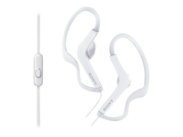 Sony MDR-AS210AP - earphones with micSony MDR-AS210AP - earphones with mic, White, hi-res