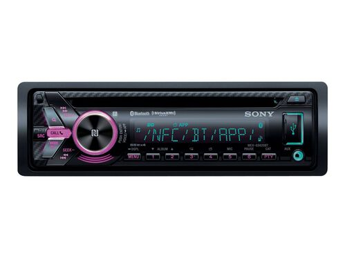 Sony MEX-GS620BT - car - CD receiver - in-dash unit - Full-DIN, , hi-res