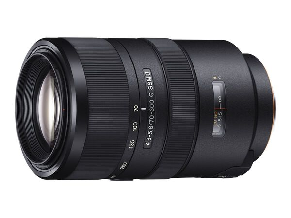 Sony SAL70300G2 - telephoto zoom lens - 70 mm - 300 mmSony SAL70300G2 - telephoto zoom lens - 70 mm - 300 mm, , hi-res