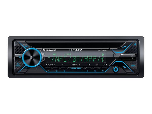 Sony MEX-GS820BT - car - CD receiver - in-dash unit - Full-DINSony MEX-GS820BT - car - CD receiver - in-dash unit - Full-DIN, , hi-res