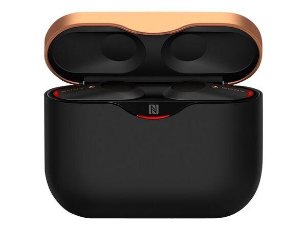 Sony WF-1000XM3 - true wireless earphones with micSony WF-1000XM3 - true wireless earphones with mic, Black, hi-res