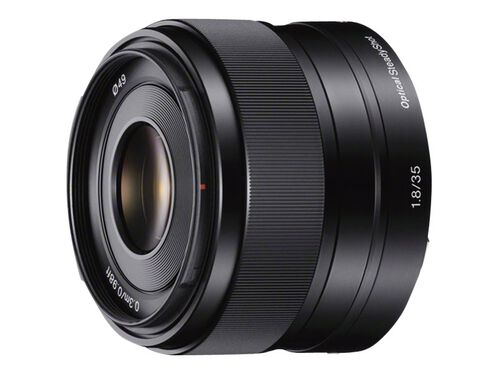 Sony SEL35F18 - lens - 35 mm, , hi-res