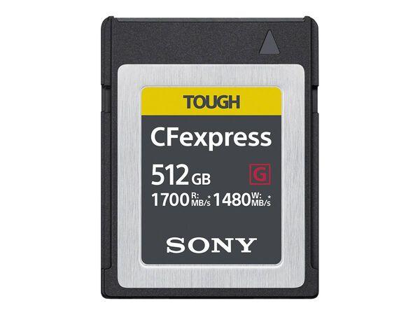 Sony CEB-G Series CEBG256/J - flash memory card - 256 GB - CFexpressSony CEB-G Series CEBG256/J - flash memory card - 256 GB - CFexpress, , hi-res