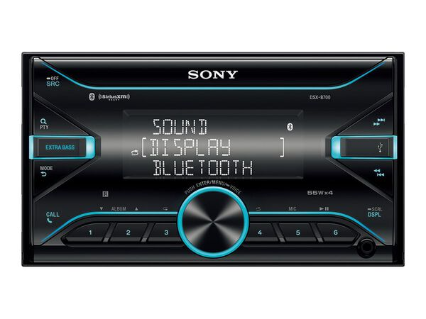 Sony DSX-B700 - car - digital receiver - in-dash unit - Double-DINSony DSX-B700 - car - digital receiver - in-dash unit - Double-DIN, , hi-res