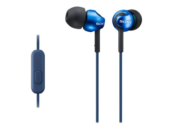 Sony MDR-EX110AP - earphones with micSony MDR-EX110AP - earphones with mic, Blue, hi-res