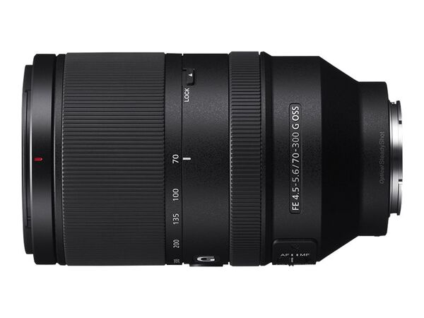Sony SEL70300G - telephoto zoom lens - 70 mm - 300 mmSony SEL70300G - telephoto zoom lens - 70 mm - 300 mm, , hi-res