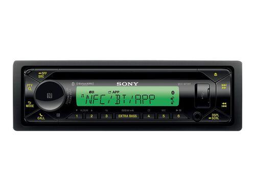 Sony MEX-M72BT - marine - CD receiver - in-dash unit - Single-DIN, , hi-res
