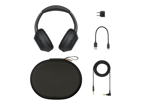 Sony WH-1000XM3 - headphones with micSony WH-1000XM3 - headphones with mic, Black, hi-res